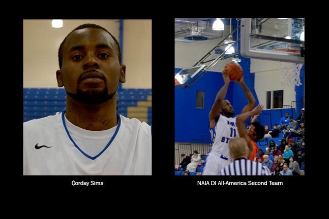 Corday Sims - NAIA All-America