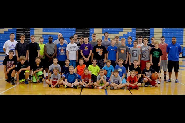 2015 Boys BB Camp