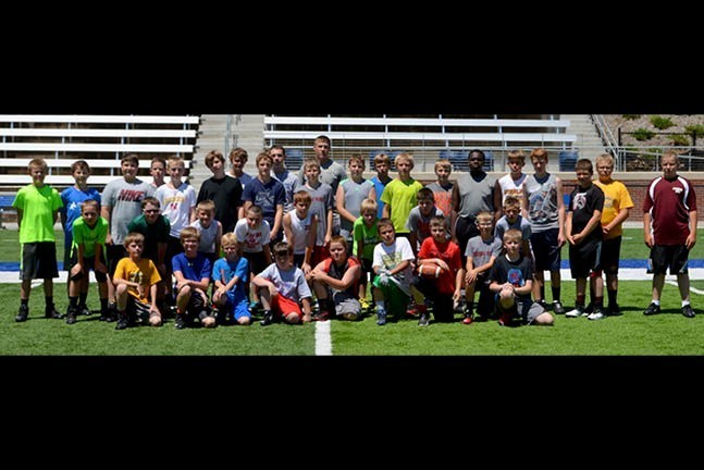 Football Camp 2015 HP SLide